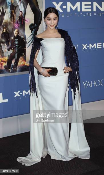 Actress Fan Bingbing attends the 'XMen Days Of Future Past' World Premiere Outside Arrivals at Jacob Javits Center on May 10 2014 in New York City