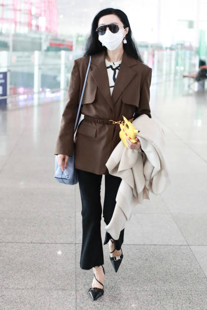CHN: Fan Bingbing Sightings In Beijing