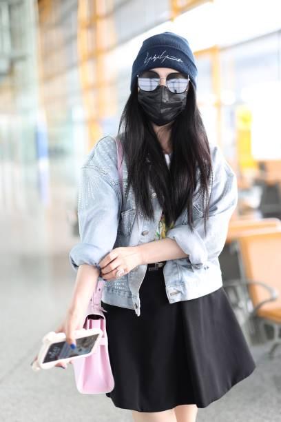 CHN: Fan Bingbing Sightings In Beijing