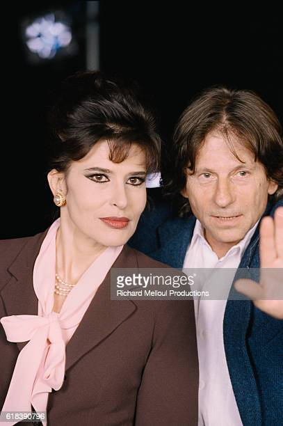 Actress Fanny Ardant and director Roman Polanski are in the Theatre de la Porte StMartin in Paris Polanski is producing the Terrence McNally play...