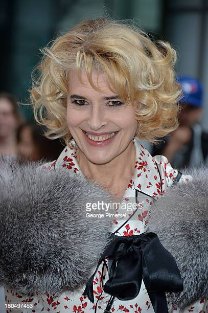 Actress Fanny Ardant arrives at the 'Bright Days Ahead' Premiere during the 2013 Toronto International Film Festival at Roy Thomson Hall on September...