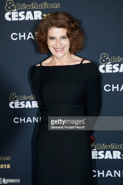 Actress Fanny Ardant attends the 'Cesar Revelations 2018' Party at Le Petit Palais on January 15 2018 in Paris France