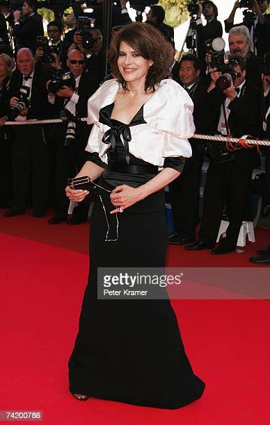 """Actress Fanny Ardant attends the premiere for the film """"Chacun Son Cinema"""" at the Palais des Festivals during the 60th International Cannes Film..."""