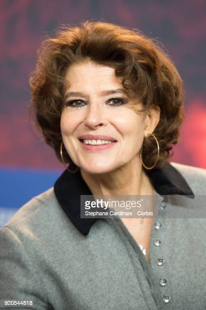 Actress Fanny Ardant attends the 'Shock Waves' press conference during the 68th Berlinale International Film Festival Berlin at Grand Hyatt Hotel on...
