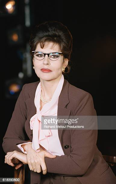 Actress Fanny Ardant is in the Theatre de la Porte StMartin in Paris She is starring in the Terrence McNally play Master Class which is being...