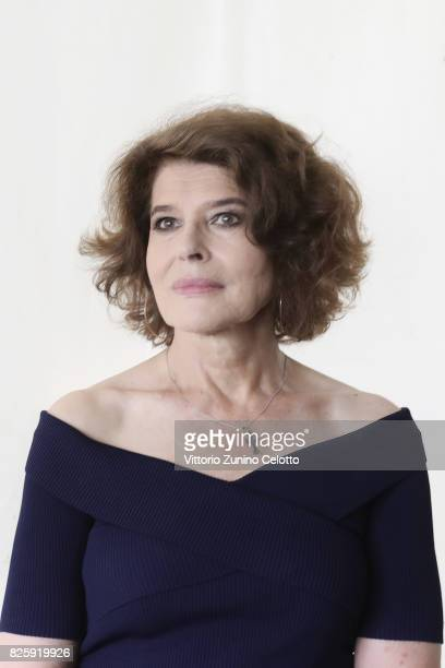 Actress Fanny Ardant poses for a portrait during the 70th Locarno Film Festival on August 3 2017 in Locarno Switzerland