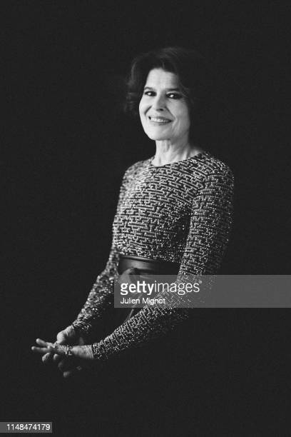 Actress Fanny Ardant poses for a portrait on May 20 2019 in Cannes France