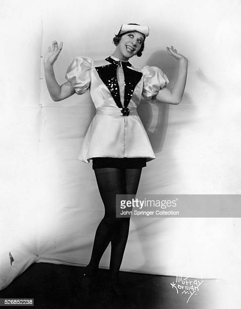 Actress Fanny Brice in Costume
