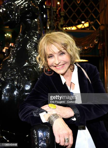 Actress Fanny Cottencon poses during a portrait session in Paris France on