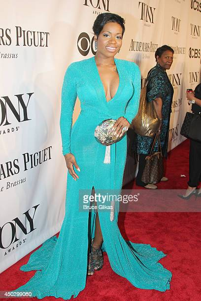 Actress Fantasia attends the American Theatre Wing's 68th Annual Tony Awards at Radio City Music Hall on June 8, 2014 in New York City.