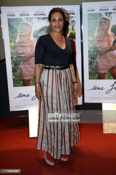 Actress Farida Rahouadj attends the Une Fille Facile Premiere at Cinema UGC Cine Cite Les Halles on August 27 2019 in Paris France