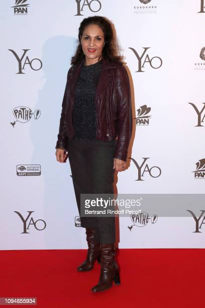 Actress Farida Rahouadj attends the YAO Paris Premiere at Le Grand Rex on January 15 2019 in Paris France