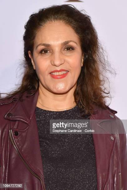 Actress Farida Rahouadj attends Yao Paris Premiere at Le Grand Rex on January 15 2019 in Paris France