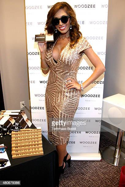 Actress Farrah Abraham attends the GBK PreESPY lounge held at the Andaz Hotel on July 13 2015 in Los Angeles California