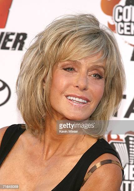Actress Farrah Fawcett arrives at the Comedy Central Roast of William Shatner held at CBS Radford Studios on August 13 2006 in Studio City California