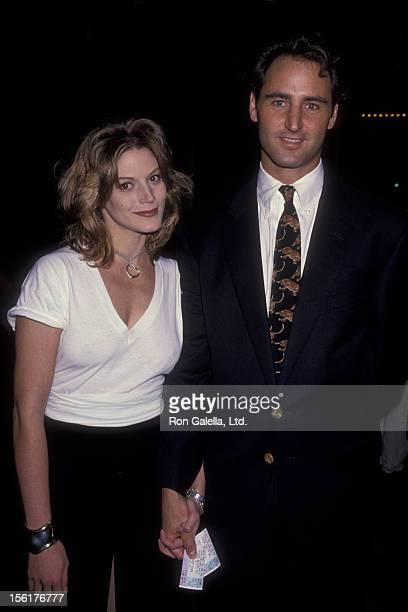 Actress Farrah Forke and Drew Snuttle attend David Copperfield Performance Benefiting Starlight Foundation on November 10 1993 at the Wiltern Theater...