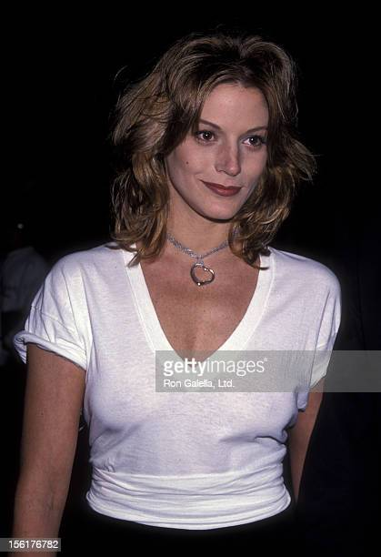 Actress Farrah Forke attends David Copperfield Performance Benefiting Starlight Foundation on November 10 1993 at the Wiltern Theater in Los Angeles...