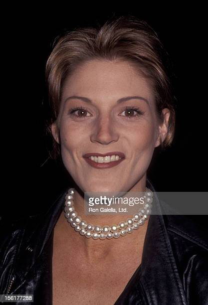 Actress Farrah Forke attends NBC TV All Star Evening Winter Press Tour on January 8 1994 at the Ritz Carlton Hotel in Pasadena California