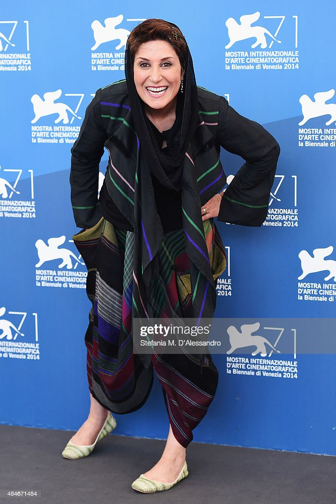 Actress Fatemeh Motamed Arya attends the 'Nabat' photocall during the 71st Venice Film Festival on September 5, 2014 in Venice, Italy.