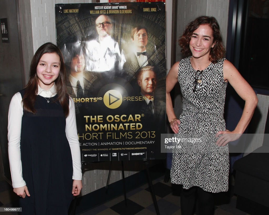Actress Fatima Ptacek and producer Mara Kassin of 'Curfew' attend the NYC Theatrical Opening of Oscar Nominated Short Films at IFC Center on February 1, 2013 in New York City.