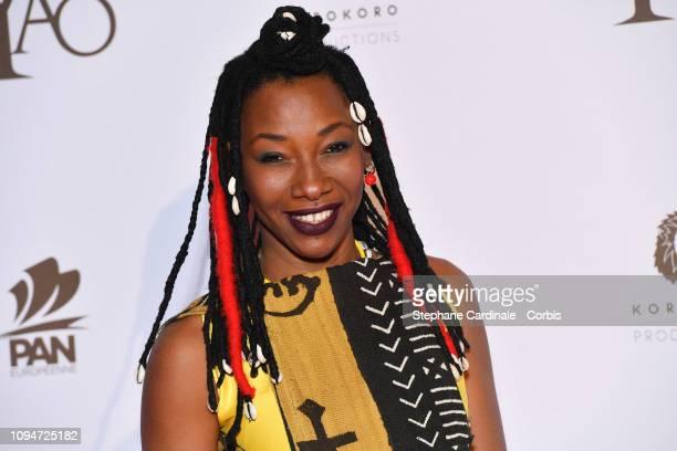 Actress Fatoumata Diawara attends 'Yao' Paris Premiere at Le Grand Rex on January 15 2019 in Paris France