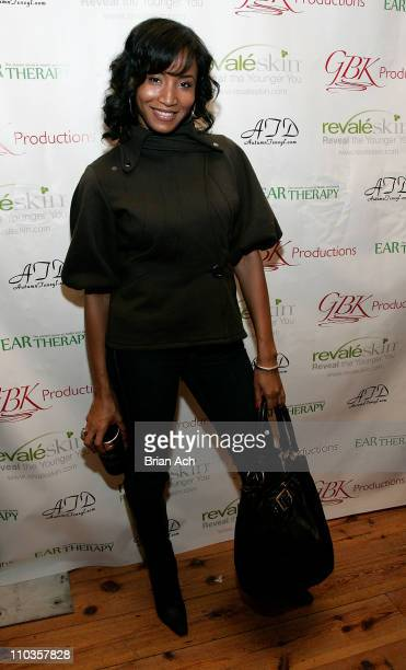 Actress Faune A Chambers attends The Revaleskin Rejuvenation Lounge at the Phoenix Gallery on January 18 2008 in Park City Utah