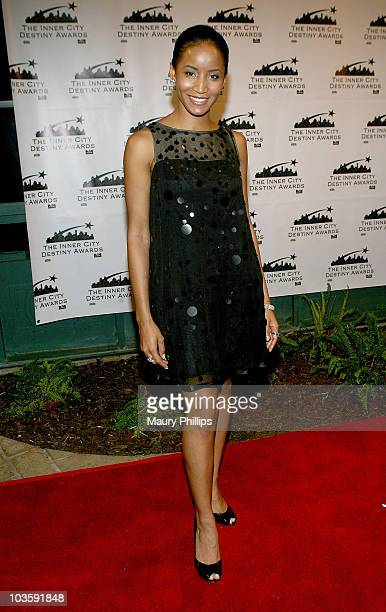 Actress Faune Chambers arrives at the Inner City Destiny Awards on November 17 2007 held at the Celebrity Centre International in Los Angeles...