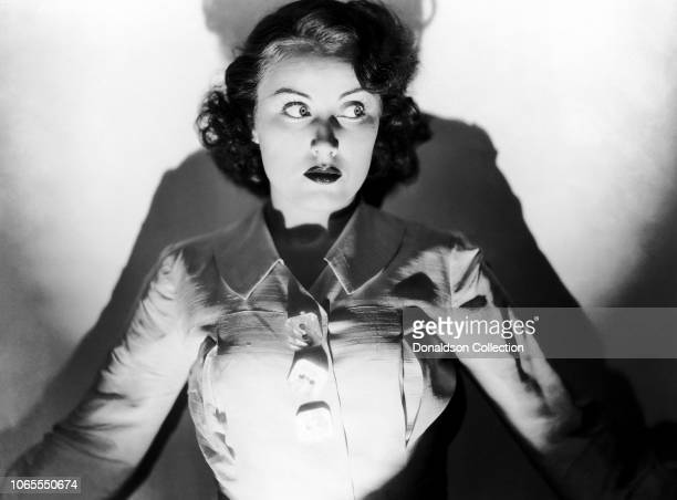 Actress Fay Wray in a scene from the movie Black Moon
