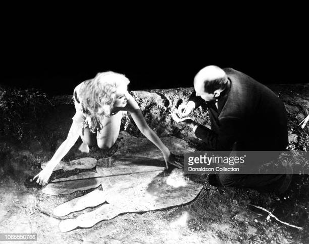 Actress Fay Wray in a scene from the movie King Kong