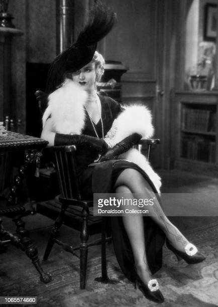 Actress Fay Wray in a scene from the movie One Sunday Afternoon