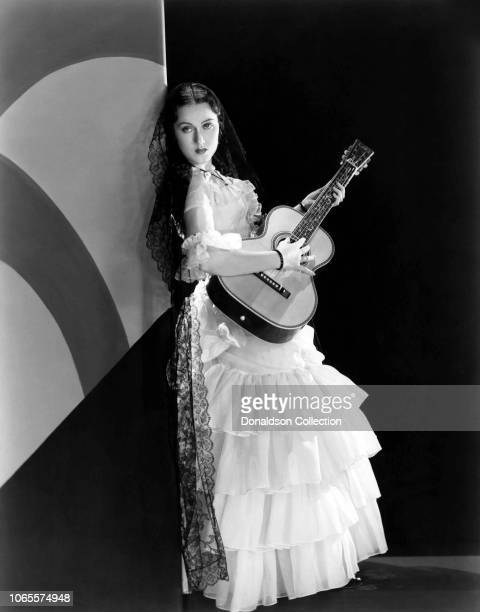Actress Fay Wray in a scene from the movie The Texan