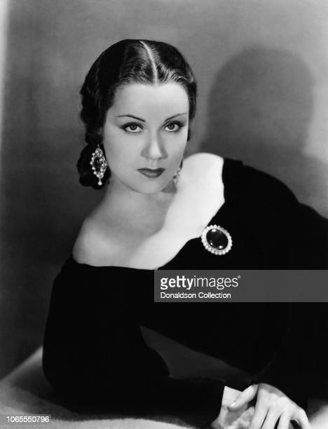 Actress Fay Wray in a scene from the movie Viva Villa
