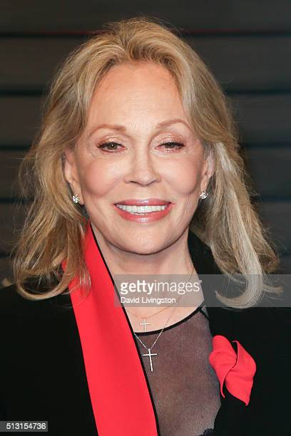 Actress Faye Dunaway arrives at the 2016 Vanity Fair Oscar Party Hosted by Graydon Carter at the Wallis Annenberg Center for the Performing Arts on...
