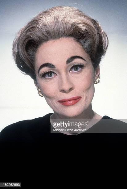 Actress Faye Dunaway as Joan Crawford on the set of Paramount Pictures movie ' Mommie Dearest' in 1981