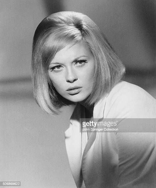 Actress Faye Dunaway as she appears in the 1967 movie Bonnie and Clyde