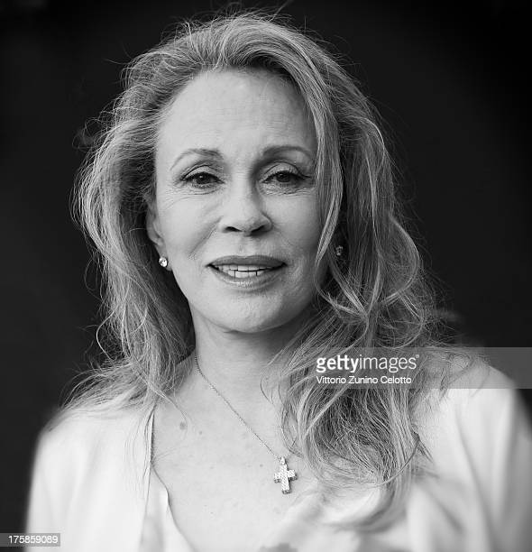 Actress Faye Dunaway attends a photocall during the 66th Locarno Film Festival on August 9 2013 in Locarno Switzerland