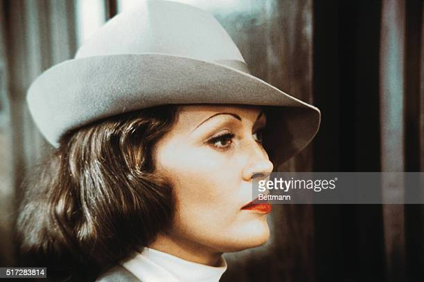 Actress Faye Dunaway in a still from the film Chinatown