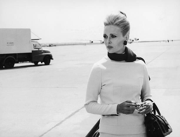Actress Faye Dunaway In The Movie A Place For Lovers
