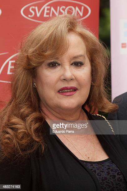 Actress Fedra Lorente attends 'Pelucas' premiere photocall at Longoria palace on April 7 2014 in Madrid Spain