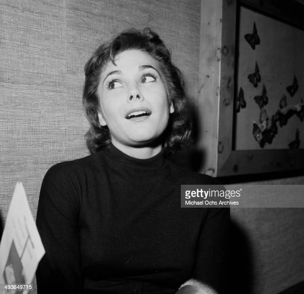 Actress Felicia Farr poses in Los Angeles California