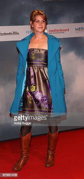 Actress Felicitas Woll attends the 'Wir sind das Volk' premiere on September 24 2008 in Berlin Germany