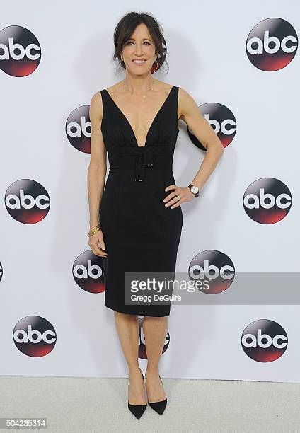 Actress Felicity Huffman arrives at the 2016 Winter TCA Tour - Disney/ABC at Langham Hotel on January 9, 2016 in Pasadena, California.
