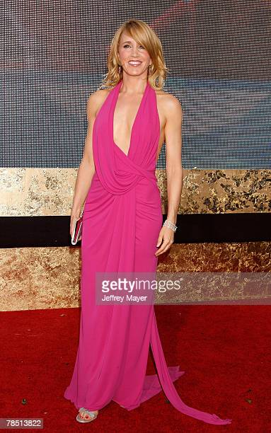 Actress Felicity Huffman arrives at the 59th Annual Primetime Emmy Awards at the Shrine Auditorium on September 16 2007 in Los Angeles California