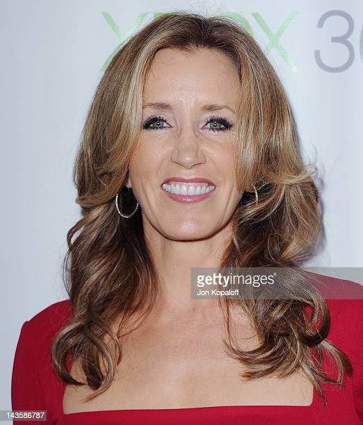 """Actress Felicity Huffman arrives at the """"Desperate Housewives"""" Series Finale at W Hollywood on April 29, 2012 in Hollywood, California."""