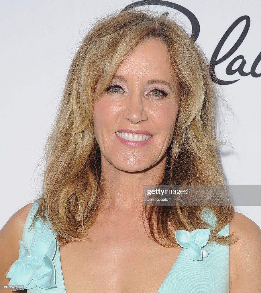 Actress Felicity Huffman arrives at Variety And Women In Film's Pre-Emmy Celebration at Gracias Madre on September 16, 2016 in West Hollywood, California.