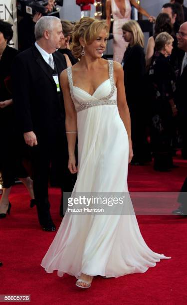 Actress Felicity Huffman arrives to the 63rd Annual Golden Globe Awards at the Beverly Hilton on January 16 2006 in Beverly Hills California