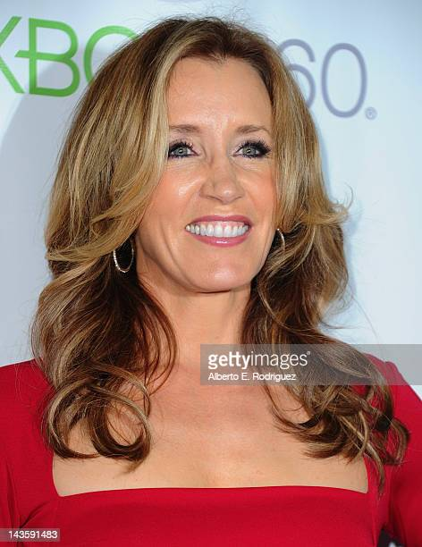 Actress Felicity Huffman arrives to the Series Finale of ABC's 'Desperate Housewives' at W Hollywood on April 29 2012 in Hollywood California