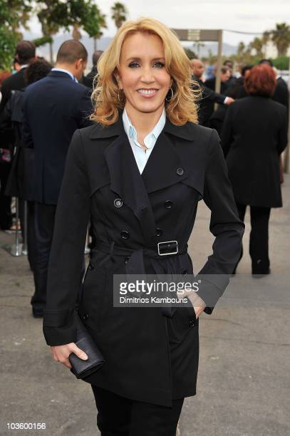 Actress Felicity Huffman at Stoli at the 2008 Film Independent's Spirit Awards at the Santa Monica Pier on February 23, 2008 in Santa Monica,...