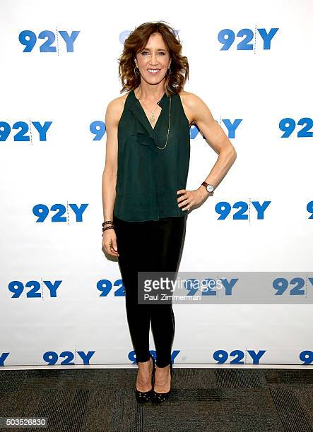 Actress Felicity Huffman attends 92nd Street Y Presents An Evening With 'American Crime' Season Two at 92nd Street Y on January 5 2016 in New York...