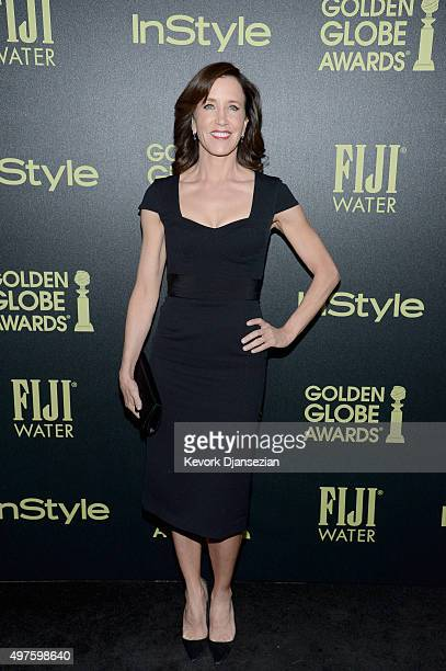Actress Felicity Huffman attends Hollywood Foreign Press Association and InStyle Celebration of The 2016 Golden Globe Award Season at Ysabel on...